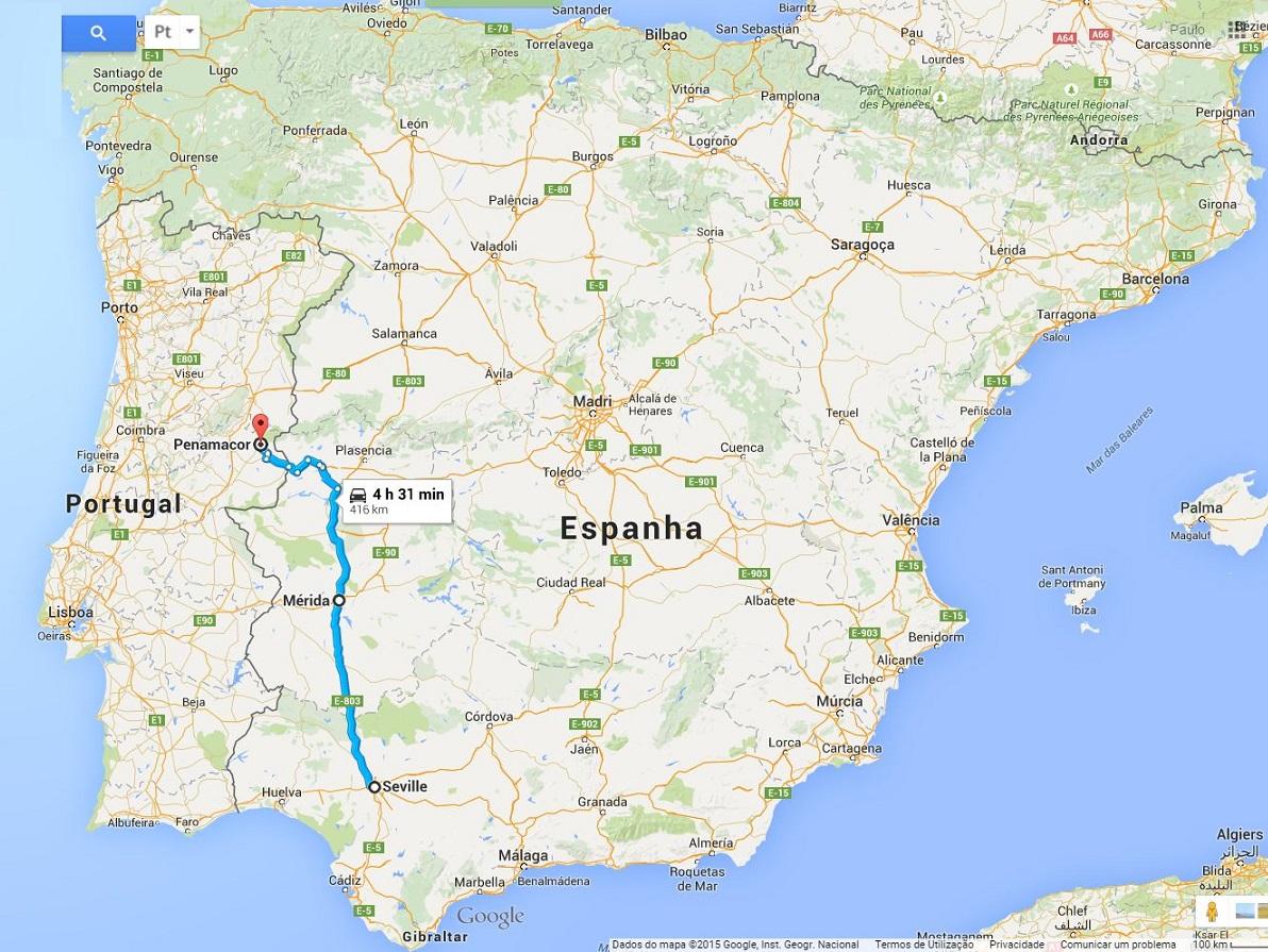 mapa lisboa sevilha Como Chegar – POM 2016 mapa lisboa sevilha
